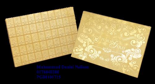 Public Gold Flexibar 50g (Au 999.9)
