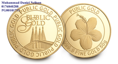 Public Gold Wafer 50g (Au 999.9)