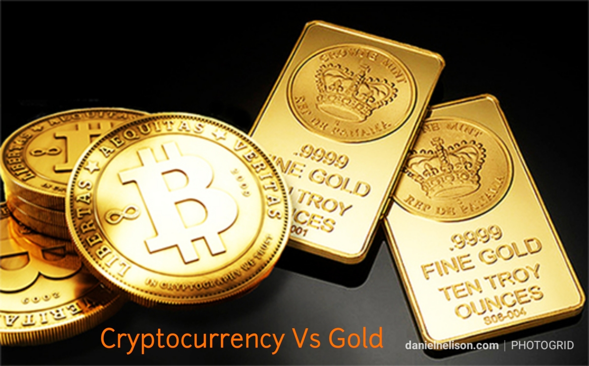 Cryptocurrency Vs Emas..mana yangbernilai?