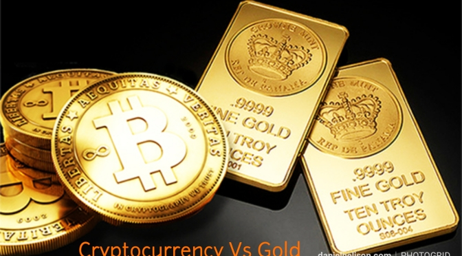 Cryptocurrency Vs Emas..mana yang bernilai?