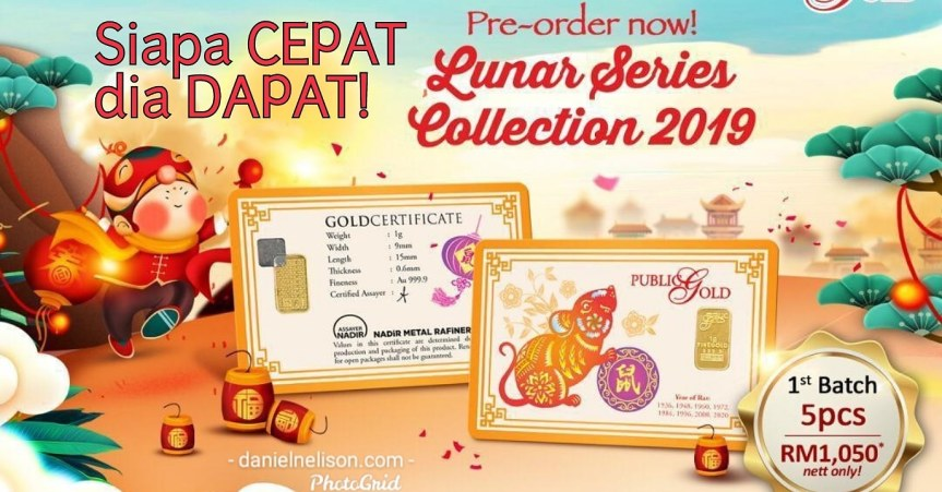 PROMOSI ZODIAC CHINESE NEW YEAR – RAT..STOCK TERHAD