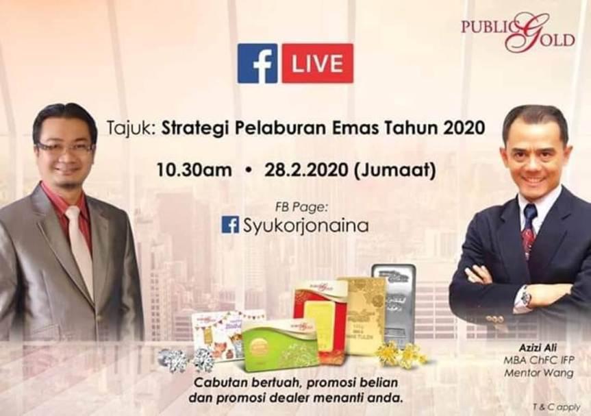 Strategi Terbaik Dari Pakar Kewangan dan Mahaguru EmasMalaysia